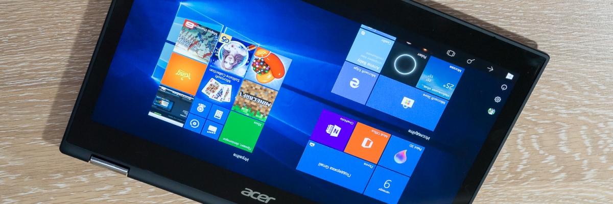Обзор ноутбука-трансформера Acer Spin 5