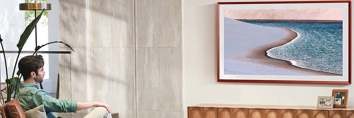 Телевизор-картина: самые тонкие модели для установки на стене
