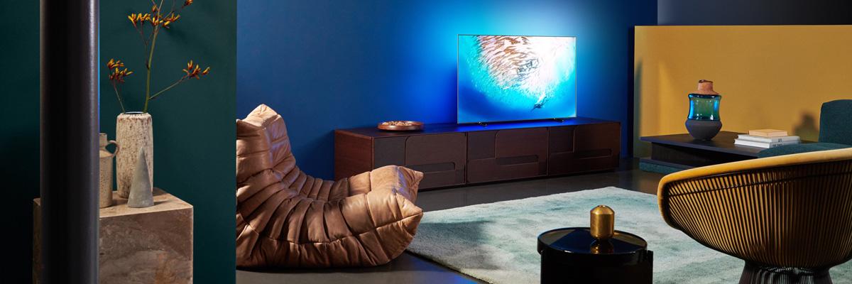 Обзор Philips OLED 805: тонкий 4K-телевизор с подсветкой Ambilight