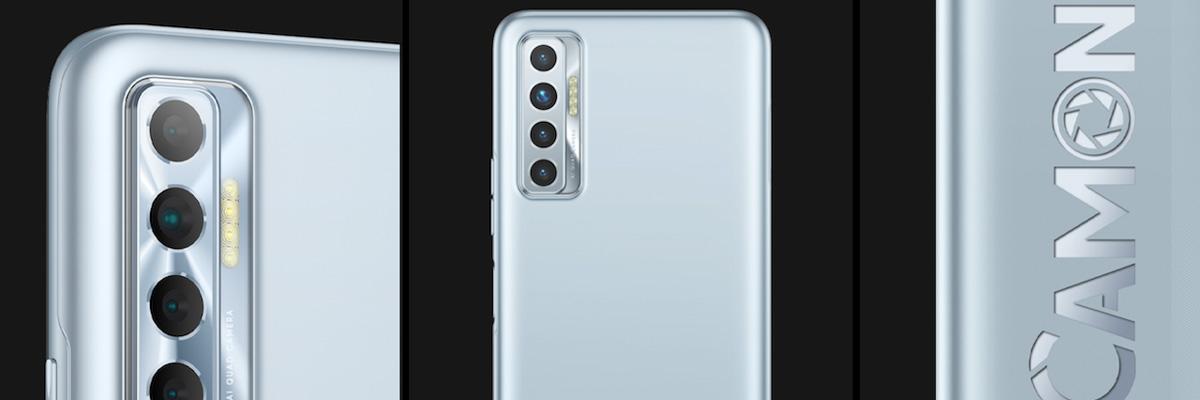 Обзор TECNO CAMON 17P: смартфон с софитами
