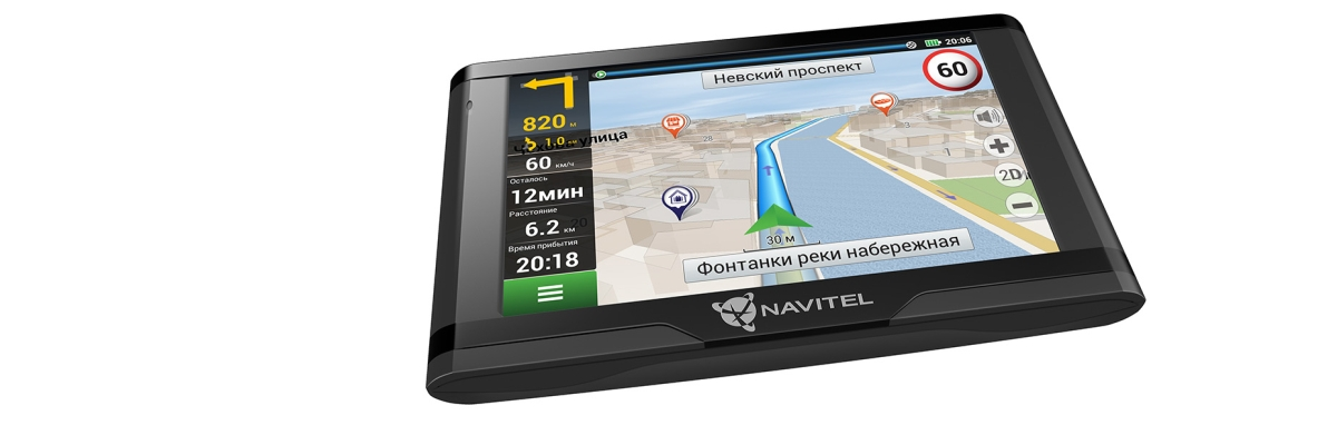 Обзор навигатора Navitel E500 Magnetic
