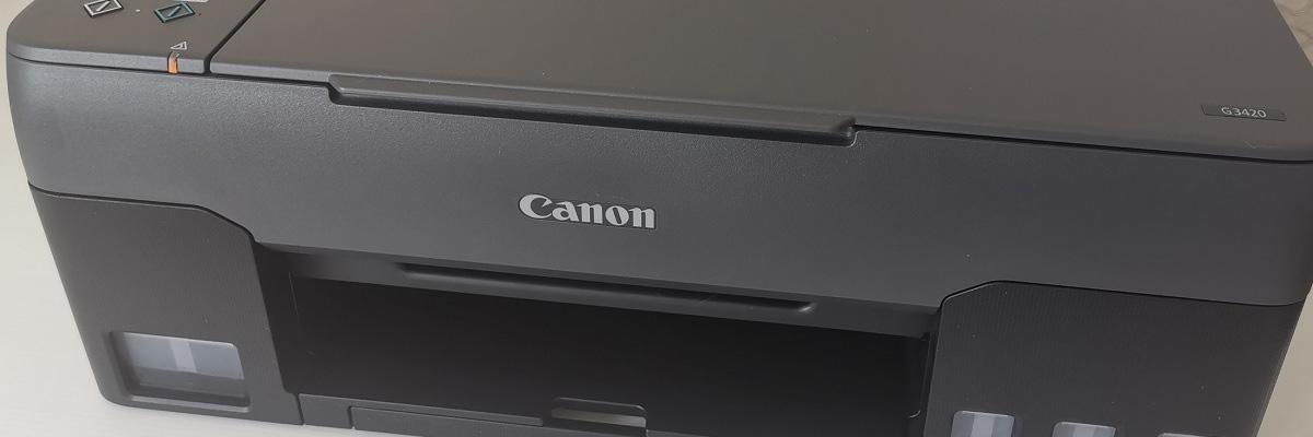 Обзор Canon PIXMA G3420: беспроводное МФУ на базе СНПЧ